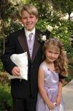 Weddingkids immagine stock