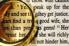 Weddingring Stock Image