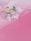 Weddings accessorie a buttonhole Royalty Free Stock Photography