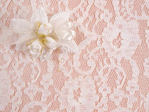 Weddings accessorie a buttonhole Stock Image