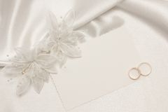 Weddings accessorie a buttonhole Stock Photography