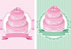 Wedding cake. Weddings  background with the wedding cake Stock Image