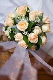 Weddings bouquet for bride Royalty Free Stock Photography