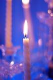 Weddings candles Stock Photo