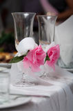 Weddings glasses Stock Photo