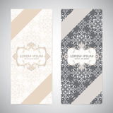 Weddings invitation card  in the vintage style Royalty Free Stock Photos
