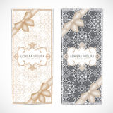Weddings invitation card in the vintage style Royalty Free Stock Photography