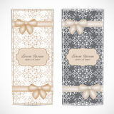 Weddings invitation card in the vintage style Royalty Free Stock Photo