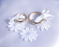 Weddings rings Royalty Free Stock Image