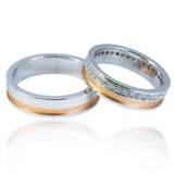 Weddings rings Royalty Free Stock Photography