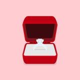 Weddint pierścionek Zdjęcie Royalty Free
