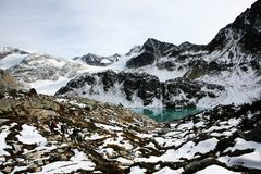 Wedegemond lake, Garibaldi Provincial Park bc cana Royalty Free Stock Photos