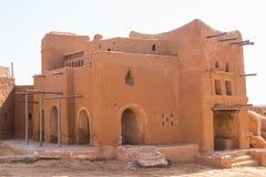 Wederopbouw van de hoofdstad van Gouden Horde sarai-Batu stock foto's