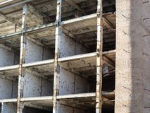 wederopbouw van de stedelijke bouw royalty-vrije stock fotografie