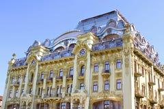 Wederopbouw van het hotel Bolshaya Moskovskaya, Odessa, de Oekraïne Stock Foto