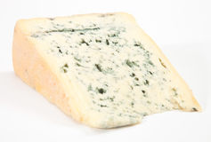 Wedge of blue cheese Stock Photo