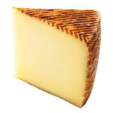 Wedge of cheese Stock Image