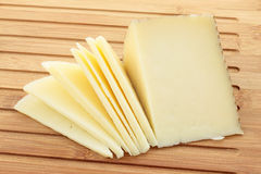 Wedge of cheese cut Stock Image