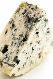 Wedge of gourmet cheese Royalty Free Stock Image