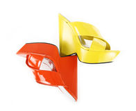 Wedge sandals royalty free stock photography