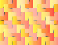 Wedged squares background Royalty Free Stock Photo