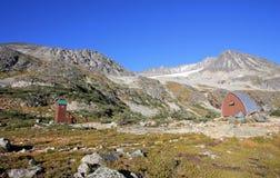Wedgemount Hut. Stock Image