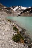 Wedgemount lake Royalty Free Stock Photo