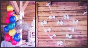 Weding decorations Royalty Free Stock Image