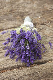 Weding Lavender Bouquet Royalty Free Stock Photography