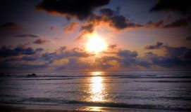 WediOmbo strand Royaltyfria Foton
