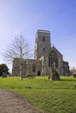 Wedmore church, Somerset Royalty Free Stock Images
