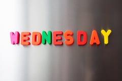 wednesday Fotografering för Bildbyråer