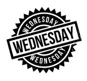 Wednesday rubber stamp Stock Photography