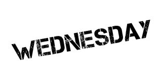 Wednesday rubber stamp Stock Photo