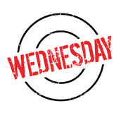 Wednesday rubber stamp Royalty Free Stock Images