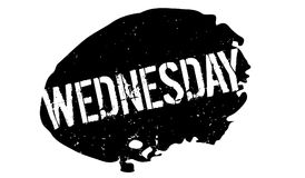 Wednesday rubber stamp Royalty Free Stock Photos