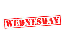 WEDNESDAY Royalty Free Stock Photography