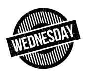 Wednesday rubber stamp Royalty Free Stock Photo