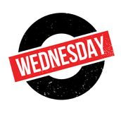 Wednesday rubber stamp Royalty Free Stock Image