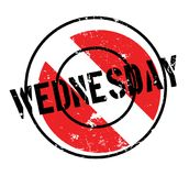 Wednesday rubber stamp Stock Photos