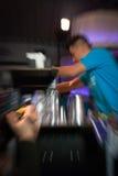 Wedstrijd 5 van de barman Stock Fotografie