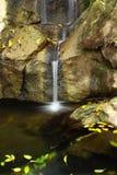 Wee waterval van Nice Stock Foto