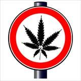 weed illustration stock