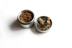 Weed grinder Royalty Free Stock Photography