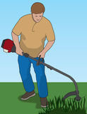 Weed Whacker Stock Photos