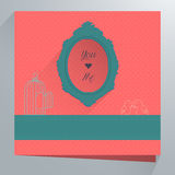Weeding cards Royalty Free Stock Photo