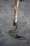 Weeds hook tool Stock Photo