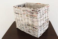 Weefsel in kranten Stock Fotografie