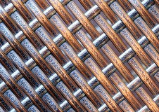 Weefselpatroon Royalty-vrije Stock Foto