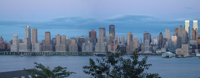 Weehawken view royalty free stock photography